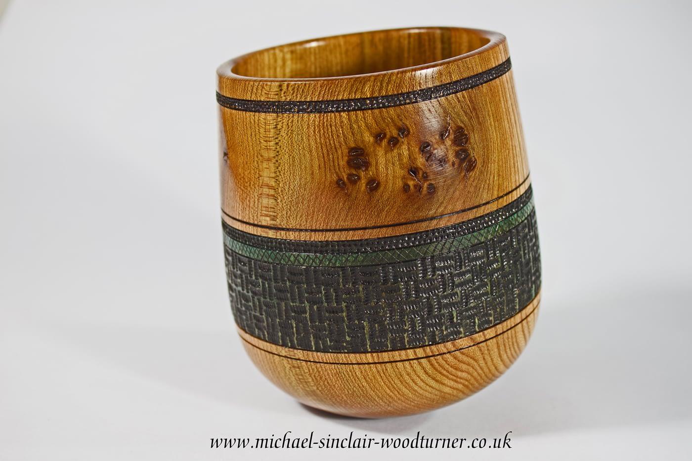 Wooden turned 'Rocking' bowls